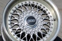 BBS RS Zoll mit Lack- und Randschäden