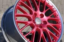 BBS 2teilig- Stern Pink metallic-Horn poliert