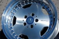 AMG Style Stern glanzgedreht-Aussenbett hochglanzpoliert