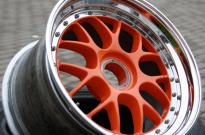 BBS Porsche-Cup1- Bett poliert & Stern Sonderlackierung