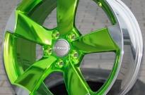 Audi Rotor hochglanzverdichtet & Sonderlasur