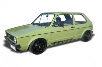 """VW Golf I Fahrzeugrestauration auf 1.8l G60 mit Porsche """"Wählscheibendesign"""" pulverbeschichtet"""