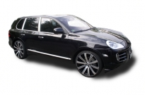 Porsche Cayenne Cayenne auf Lombartho einteilig inklusive Anpassung Luftfahrwerk