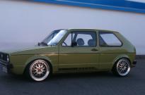 VW Golf I Fahrzeugrestauration auf 1.8l G60 mit Le Means Design