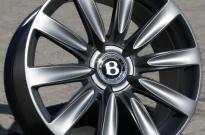 Bentley mit Pulverbeschichtung Anthrazit